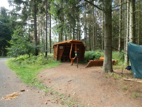 Schutzhütte Mönchsbuche