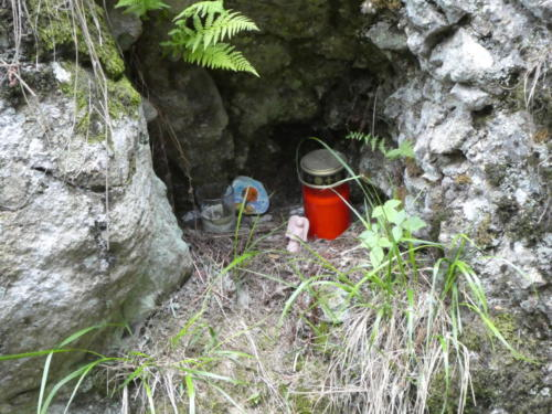 Kleine Überraschung am Huttaler Graben
