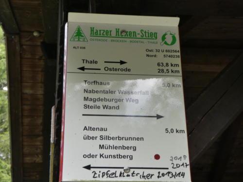 Noch 5 Kilometer bis Torfhaus.. Wenn es stimmen würde...