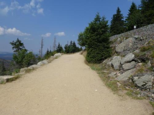 Aufstieg zum Brocken