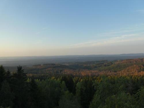 Morgendliche Aussicht vom Trudenstein