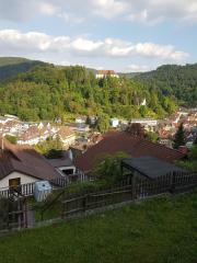 Blick über Neuenburg