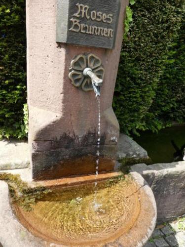 Mosesbrunnen in Forbach