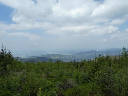 Blick über den Schwarzwald Richtung Frankreich