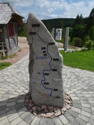 Der Verlauf der Donau in Stein gemeißelt