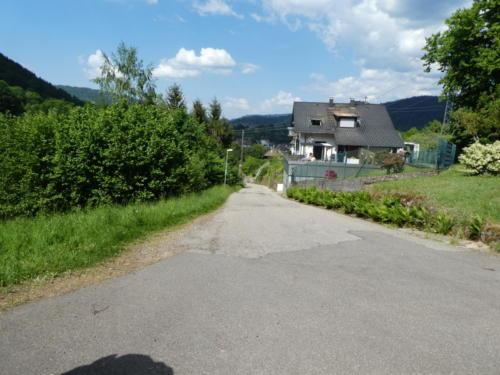 Blick zurück Richtung Forbach