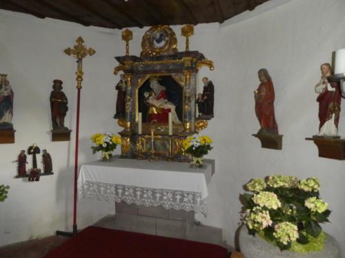 Blick in die Martinskapelle
