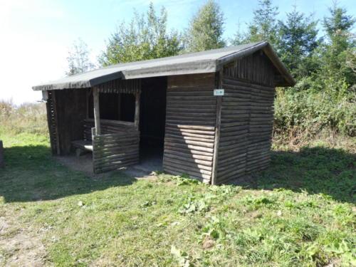 Schutzhütte Gewitterplatz
