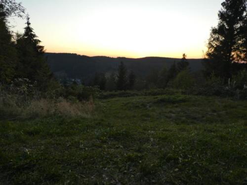 Sonnenuntergang von der Prinzenlaube aus